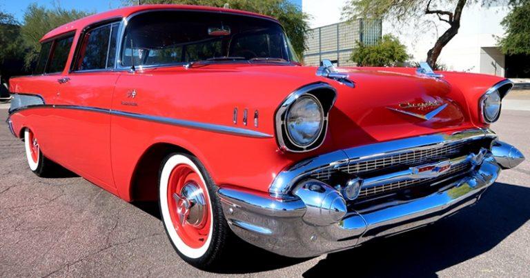 1957 Chevy Nomad Restomod