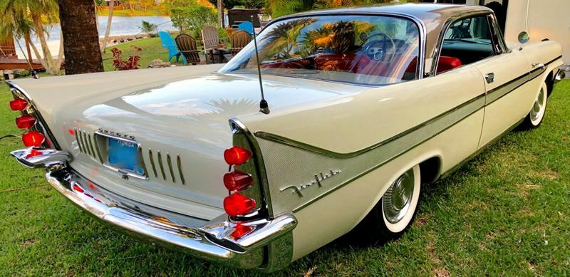rear view of a 58 DeSoto Fireflite