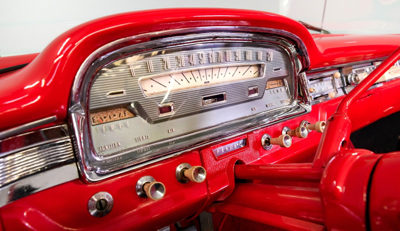 1959 Ford instrument panel