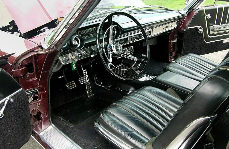 Original interior in a 35,200 mile 1964 Galaxie