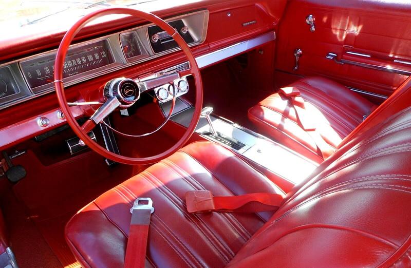 Bucket Seat SS interior of a 66 Chevy Impala