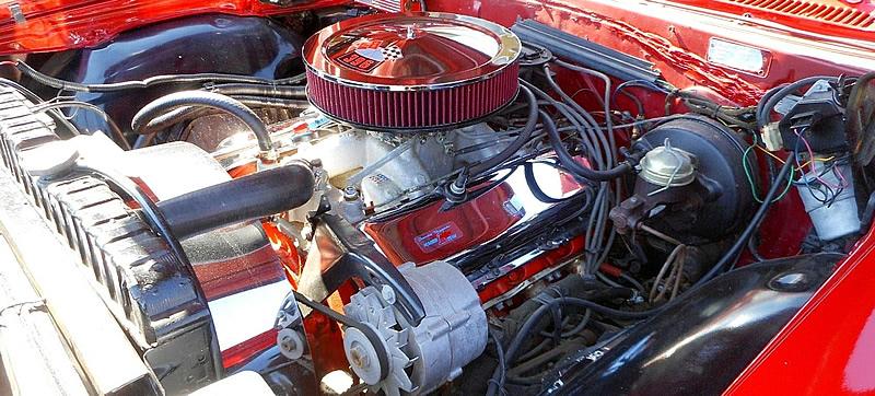 1966 Chevy 327 Turbo-Jet V8