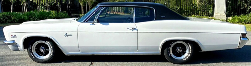 side view of a 1966 Caprice