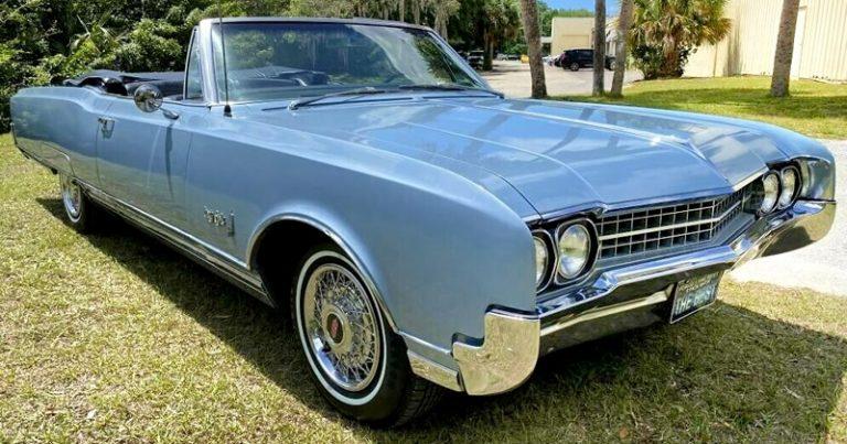 1966 Oldsmobile Ninety-Eight Convertible