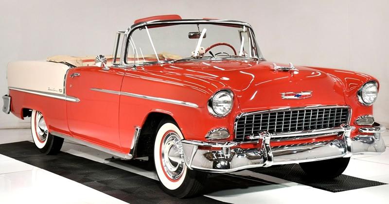 1955 Chevy Bel Air Convertible