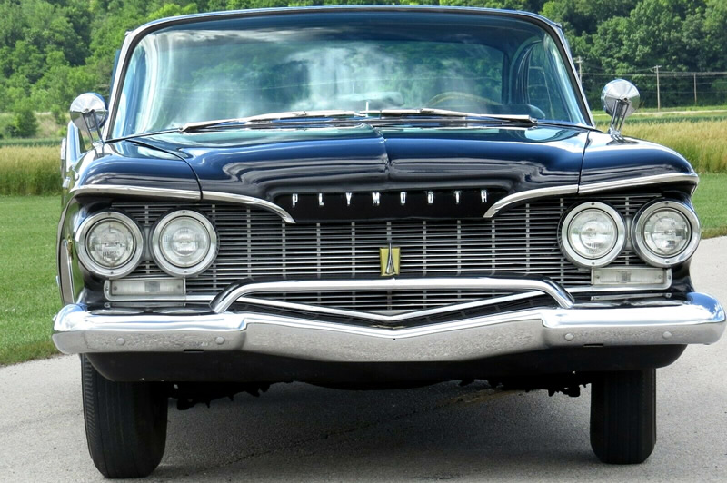 front view of a 60 Plymouth Fury