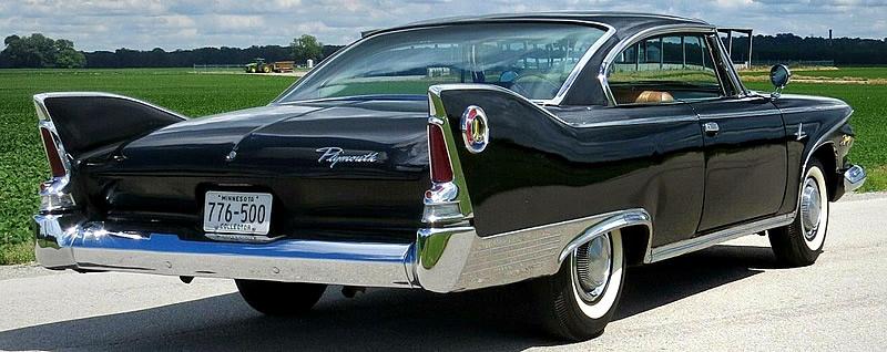 Rear view of a 2-door hardtop - '60 Plymouth Fury