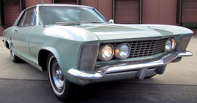 video still of a 1963 Buick Riviera