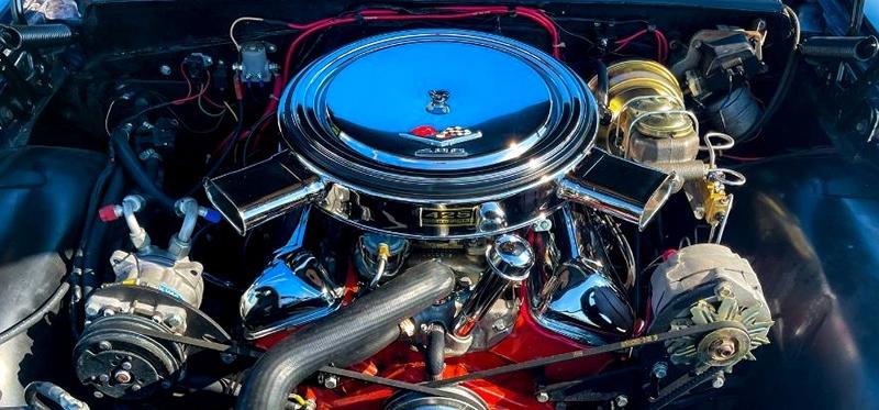 Chevrolet 409 cubic inch V8 engine