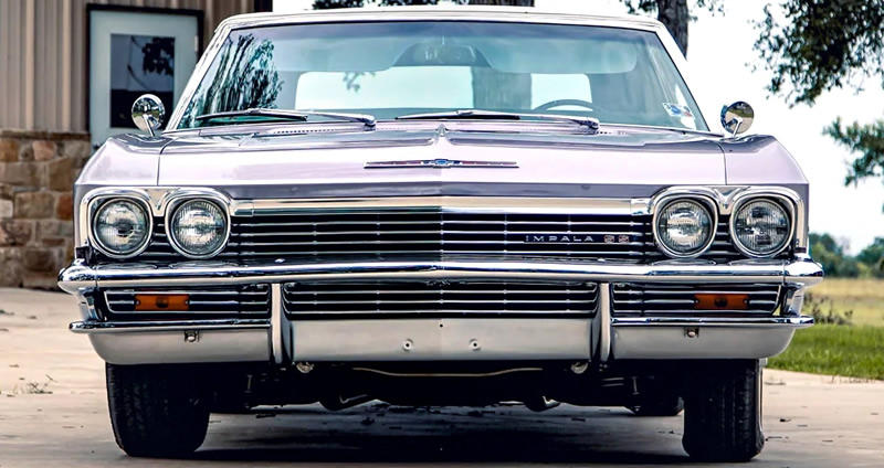front view of a 65 Chevrolet Impala SS
