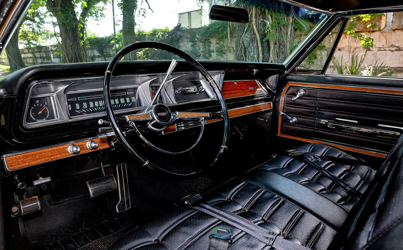 Interior of a 1966 Chevy Caprice