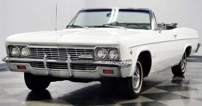 1966 Chevy Impala SS Convertible
