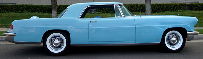 side view of a 1957 Continental Mark II