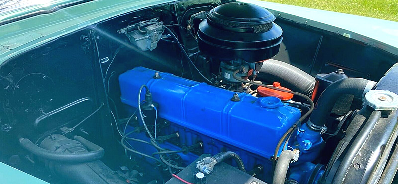 235 cubic inches chevy engine from 1953