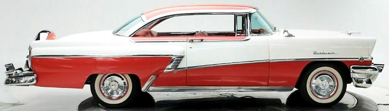 side view of the Montclair - Top-of-the-line for Mercury in 1956