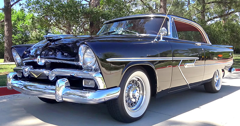 1956 Plymouth Belvedere Sport Coupe