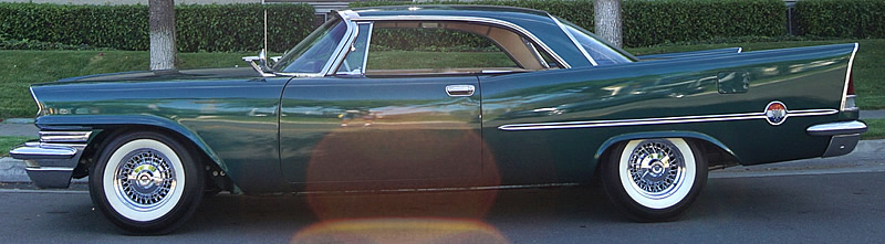 side view of a 57 Chrysler 300C