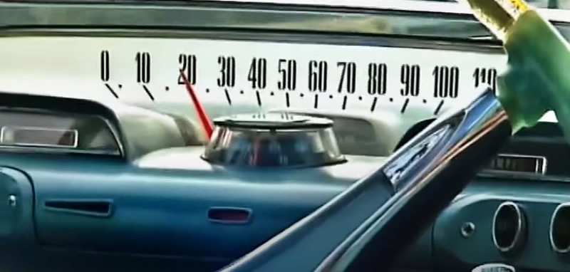 1960 Dodge Matador Speedometer
