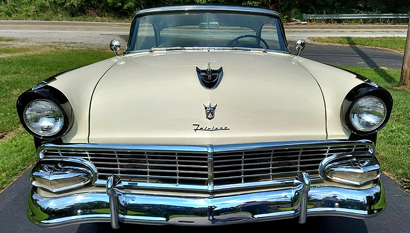 front view of a 1956 Ford
