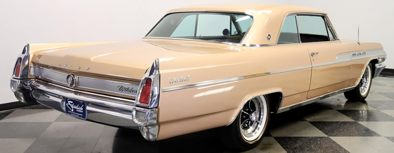 rear view of a 63 Buick Wildcat