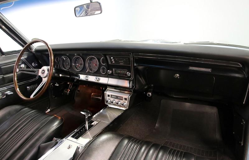 67 Chevy Impala SS bucket seat interior